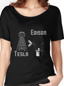 Tesla superiority Women's Relaxed Fit T-Shirt