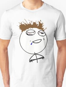 Challenge accepted drunk guy Unisex T-Shirt
