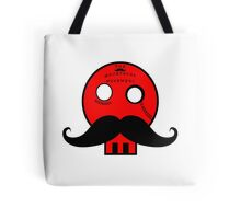 "Dapper Skull ""The_Moustache_Movement_Au"" Tote Bag"