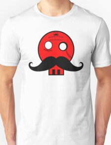 "Dapper Skull ""The_Moustache_Movement_Au"" T-Shirt"