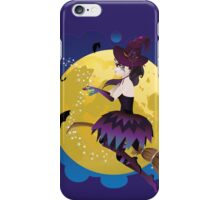 Witch on the Moon 3 iPhone Case/Skin