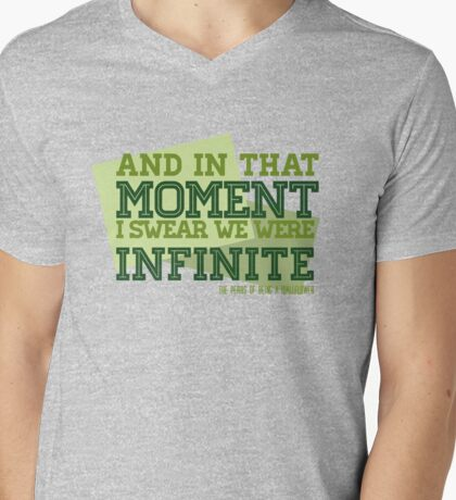 The Perks of Being a Wallflower Mens V-Neck T-Shirt