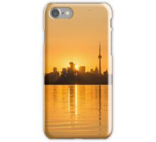 The City in Gold iPhone Case/Skin