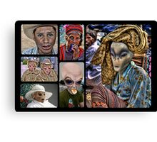 Conversion of the Humans  Canvas Print