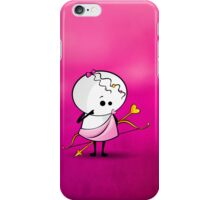angel with bow and arrow iPhone Case/Skin