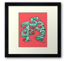 Odd Numbers Framed Print