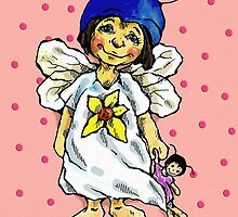 sweet-heart fairy by Renata Lombard