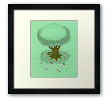 The Toughest Tree Framed Print