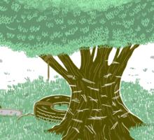 The Toughest Tree Sticker
