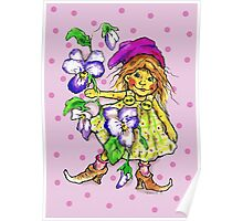 Violet Fairy Poster