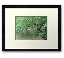 SUMMER CLOTHES Framed Print
