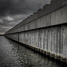 Lake Borgne Surge Barrier by RayDevlin