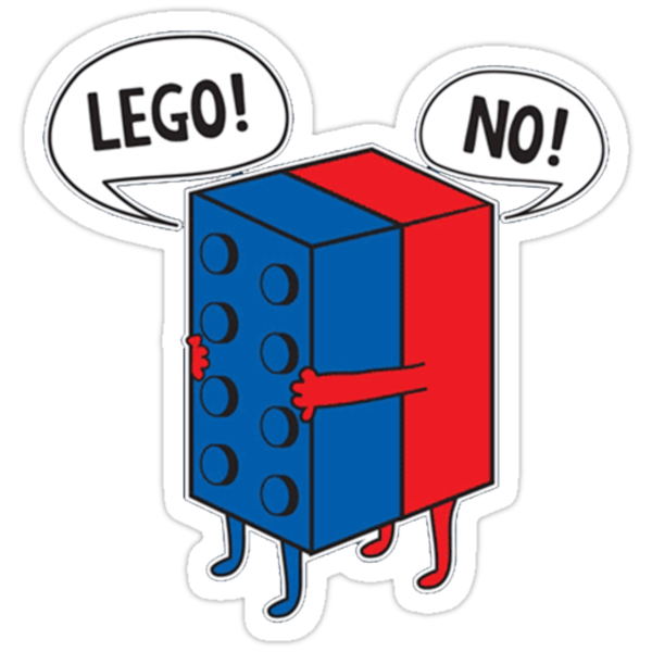 Lego - No! by doknomurinn