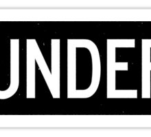Thunder Road street sign Sticker