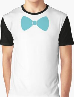 Turquoise Pastel Bow Graphic T-Shirt