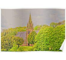 Church At Mostyn Poster