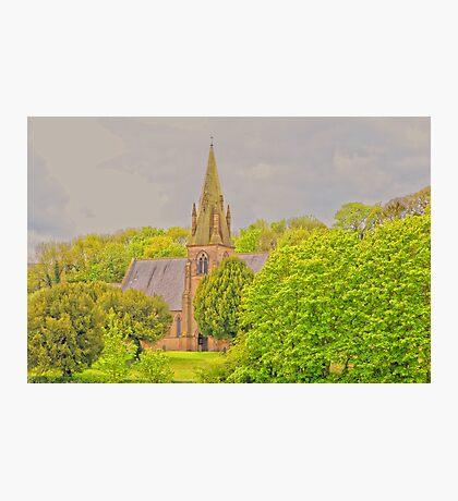 Church At Mostyn Photographic Print