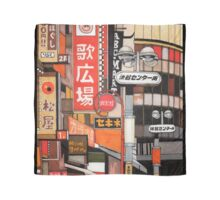 Tokyo Street Signs Scarf