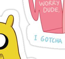 Jake sticker set Sticker
