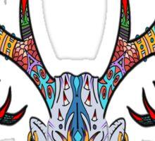 Buck Head Zen-Tangle  Sticker