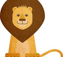 Philbert The Lion by Louise Parton