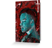 Othello Blue Greeting Card