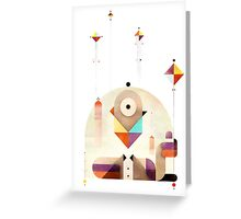 Kite Master Greeting Card