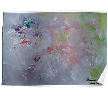 abstract painting..the flow Poster
