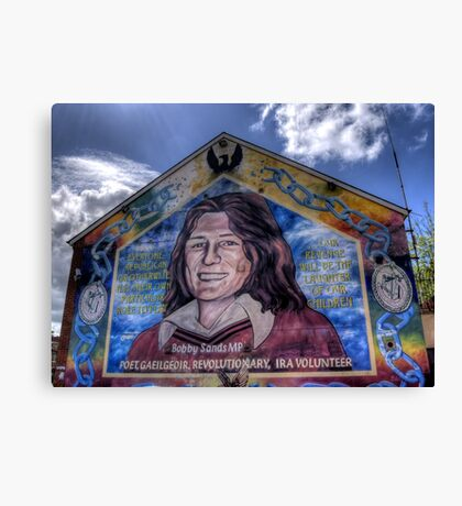 Bobby Sands - Belfast Canvas Print