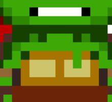 Raph TMNT 2012 Mini Pixel Sticker