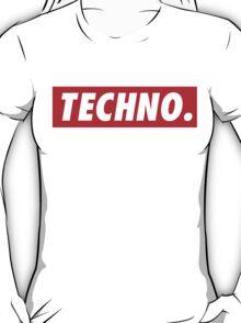 Techno. T-Shirt