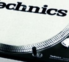 Technics 1200 Vintage  Sticker