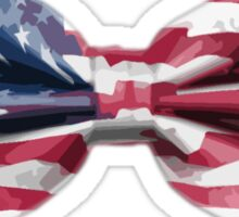 USA Bow Tie Sticker