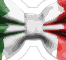 Italy Bow Tie Sticker