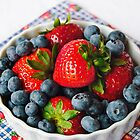 Summer Berries by Lynnette Peizer