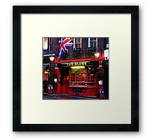 English Pubs 1 Framed Print