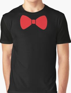 Red Bow Graphic T-Shirt