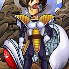Dragon Ball Vegeta iPhone 4/4s Case by jesse421