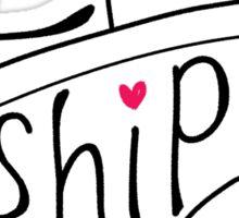 I Ship It v2. Sticker