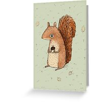 Sarah the Squirrel Greeting Card