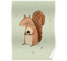 Sarah the Squirrel Poster