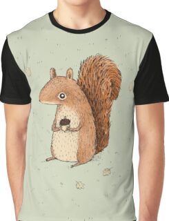 Sarah the Squirrel Graphic T-Shirt