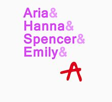Pretty & Little & Liars & A  Womens Fitted T-Shirt
