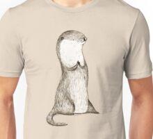 Sitting Otter Unisex T-Shirt