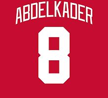 Detroit Red Wings Justin Abdelkader Jersey Back Phone Case by Russ Jericho