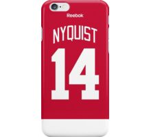 Detroit Red Wings Gustav Nyquist Jersey Back Phone Case iPhone Case/Skin