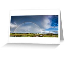 Wollongong Golf Course 10.6.2012 Greeting Card
