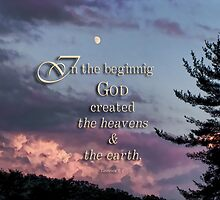 In the beginning (Gen.1:1) by vigor