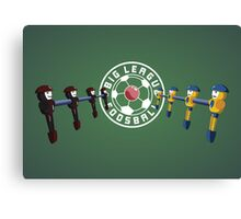 Big League Foosball | Community Canvas Print