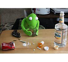 Muppet Depression Photographic Print